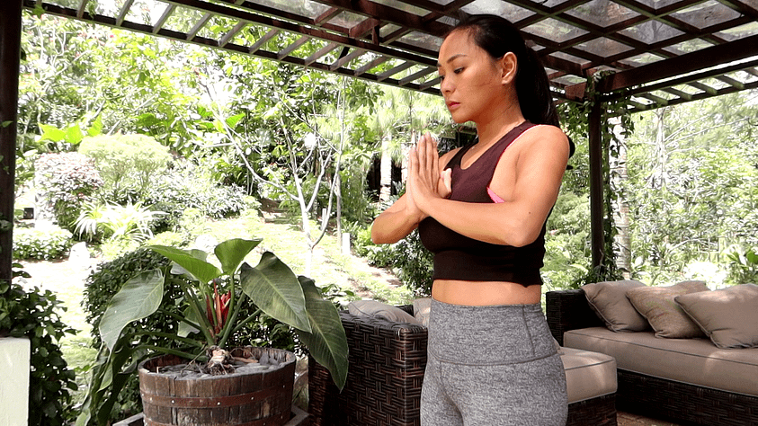 Power yoga flow for confidence